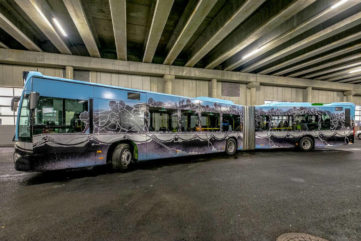 M-City Transforms a Bus in Norway to Raise Awareness on Refugees!