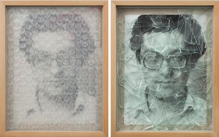 Mario Fonseca - Habeas Corpus 5a + 5b (diptych), 1981/2017