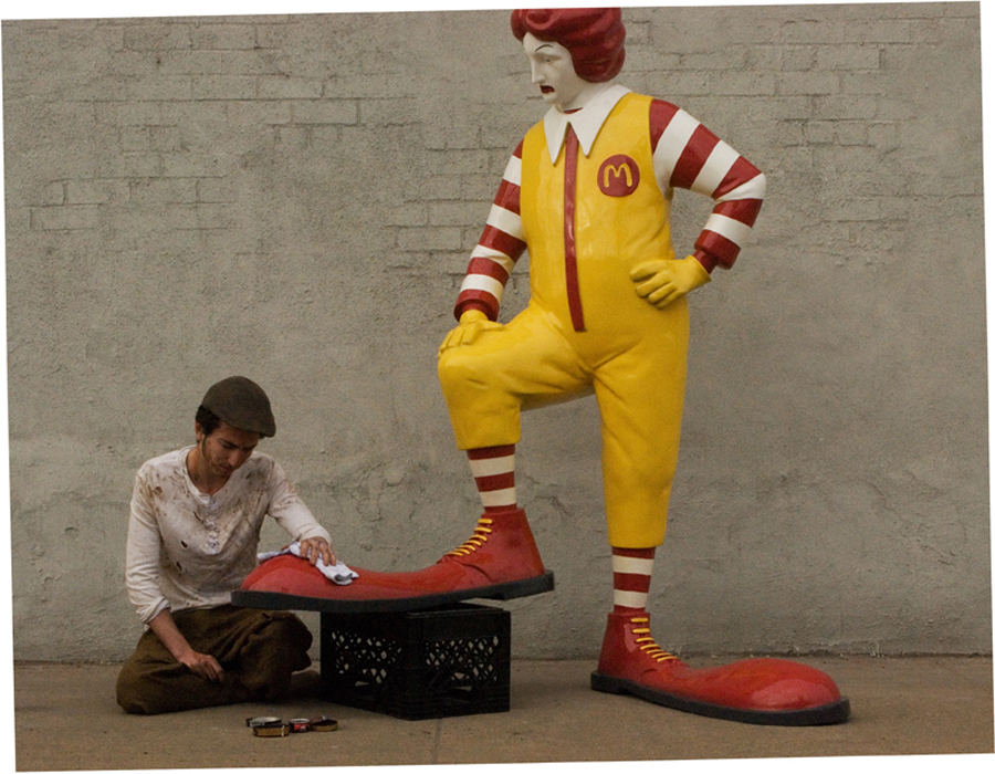 banksy new york ronald