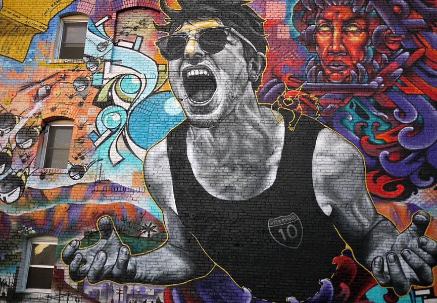 Mural in LA