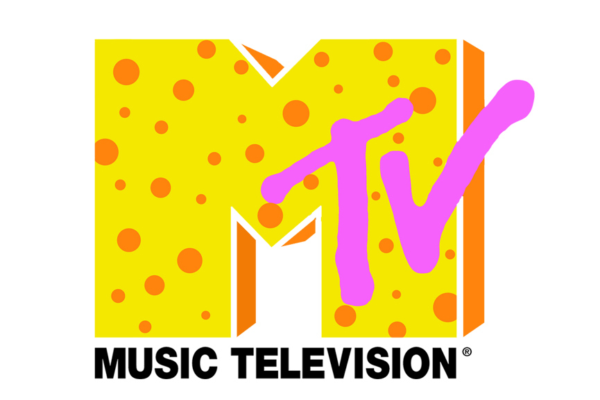MTV Logo Design. Image via pinterest.com