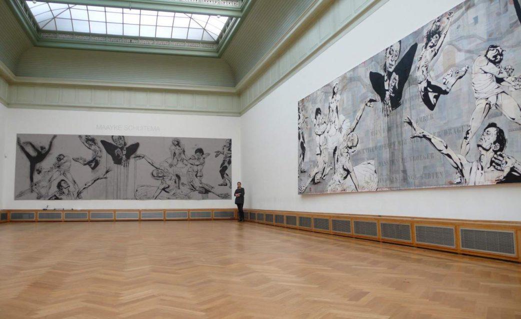 Maayke Schuitema - Pieces on display