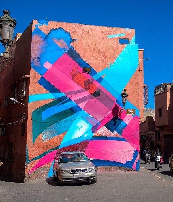 MadC - MB6 Street Art Festival 2016 - Marrakech, Morocco - 1