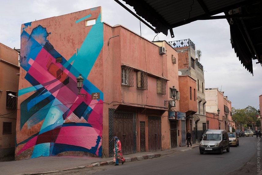 MadC - MB6 Street Art Festival 2016 - Marrakech, Morocco