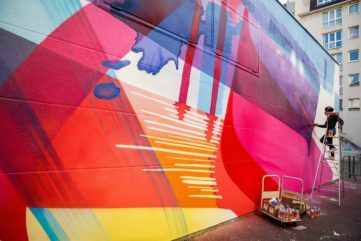 At a Chateau in Bordeaux, 9 Street Artists Explore Color