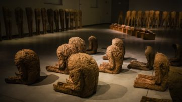 Magdalena Abakanowicz - Installation view