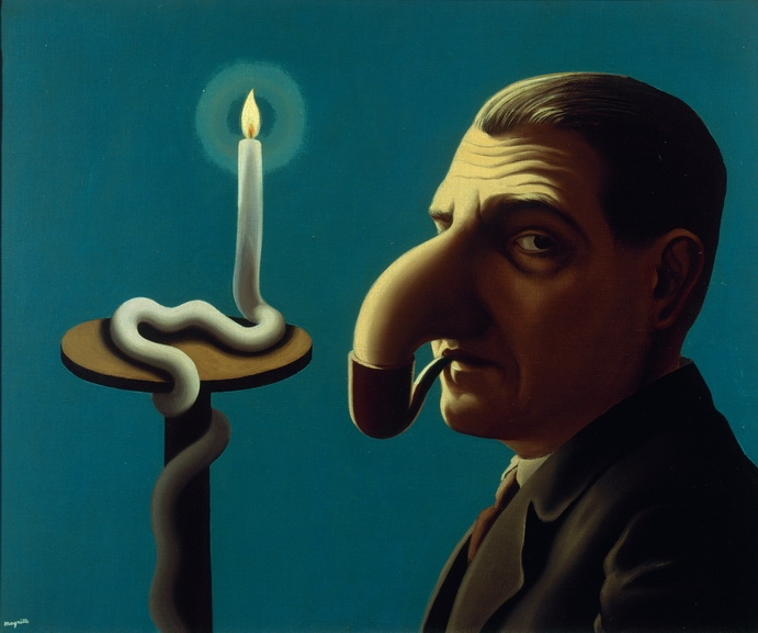 Magritte - The Philosophers Lamp