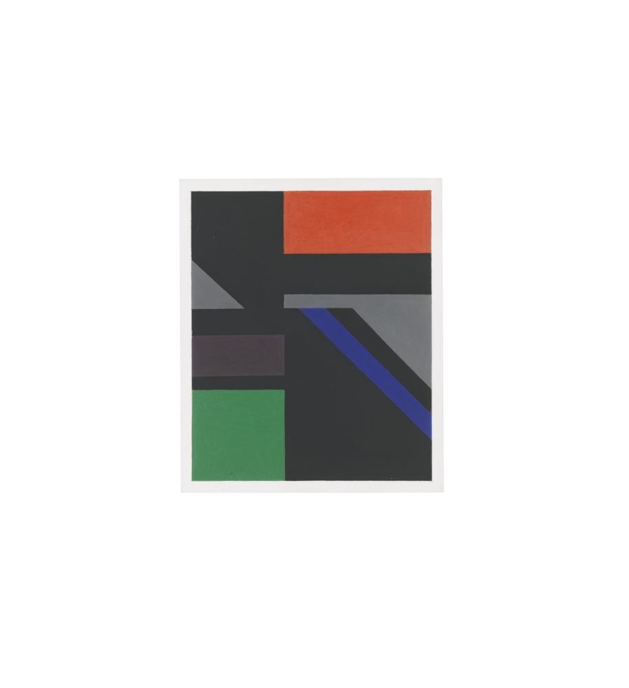 Malcolm Hughes-Chromatic Study B-1985