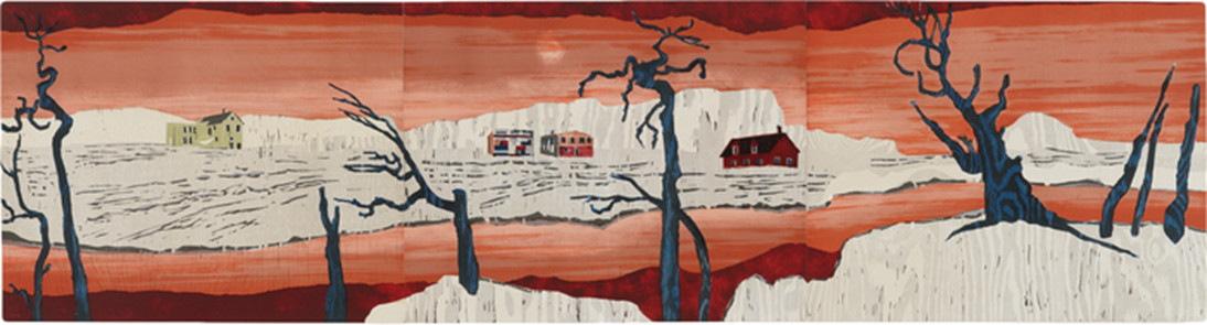 Mamma Andersson-Absint (Triptych)-2010