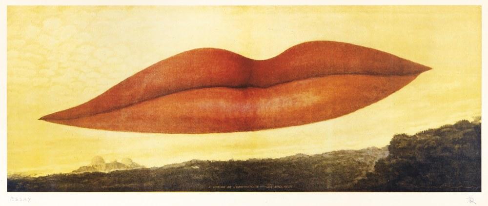 Man Ray-A L'Heure De L'Observatoire - Les Amoreaux-1970