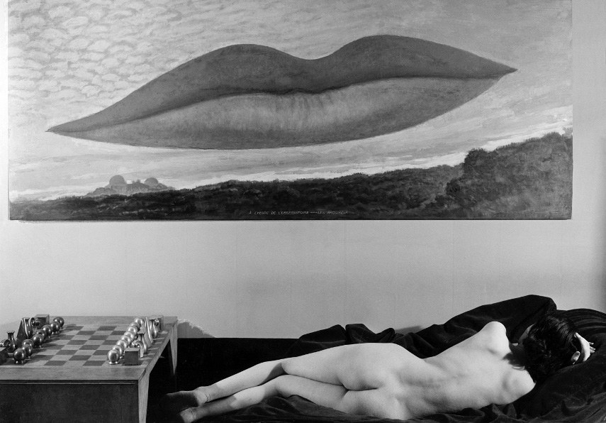 Man Ray - Observatory Time, the Lovers, 1936 - Image via arthistoryprojectcom