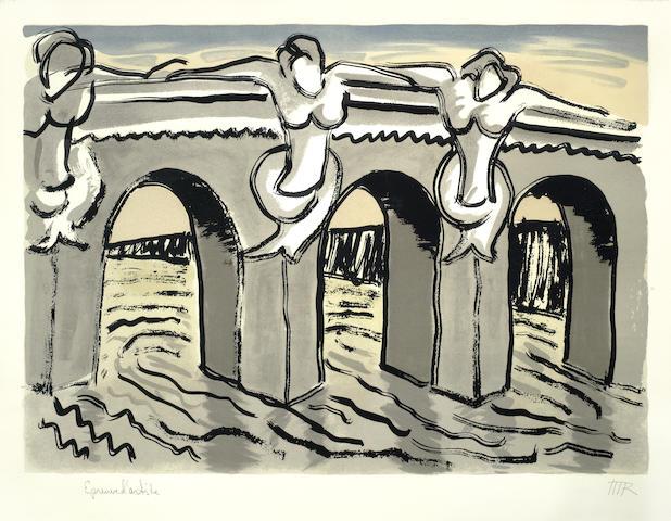 Man Ray-Pont Neuf-1970