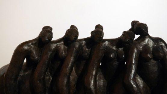 sculpture, Callipygia, galerie Geraldine Banier