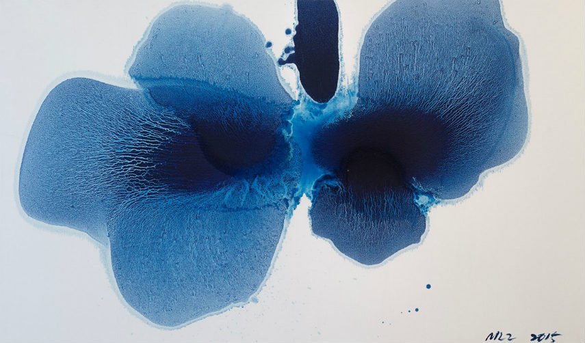 Mao Lizi - Ambiguous Flower Series No 1, 2015, photo via ocula.com