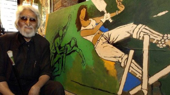 Maqbool Fida Husain, artist, photo credits - Web Neel