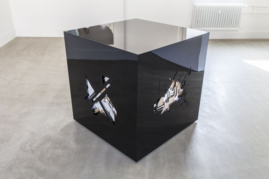 Marc C Woehr - Wood Cube, Urban Art Gallery