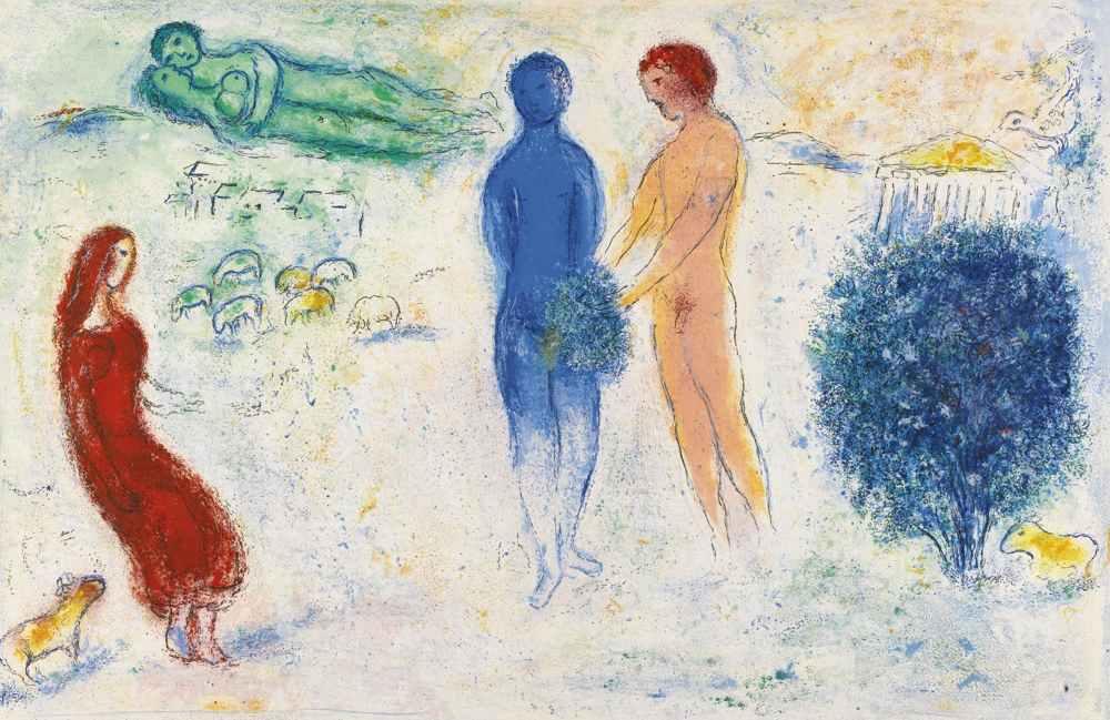 Marc Chagall-Daphnis & Chloe-1961