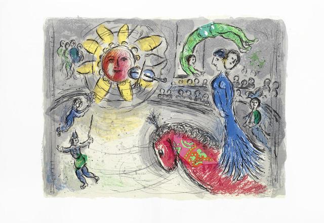 Marc Chagall-Derriere le Miroir- Nos 235, 246 & 250 3 vol-1982