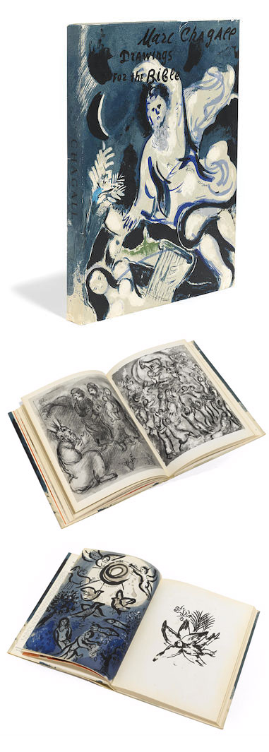 Marc Chagall-Drawings for the Bible. Verve. Vol. X Nos 37 et 38-1960