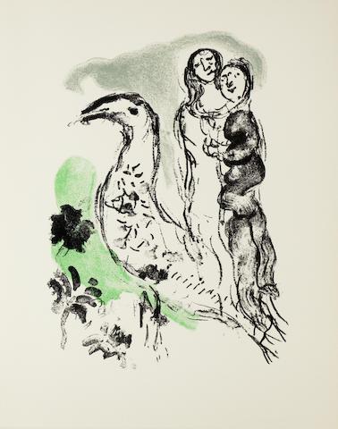 Marc Chagall-Elegie des Alizes-1969