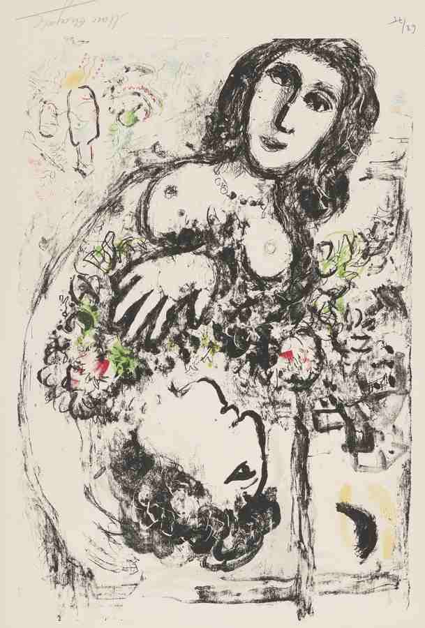 Marc Chagall-Happiness-1969