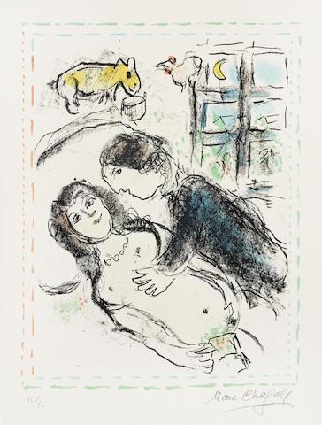 Marc Chagall-Hymnee-1983