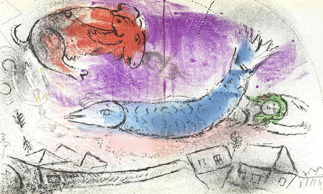 Marc Chagall-Jacques Lassaigne Book vol-1957