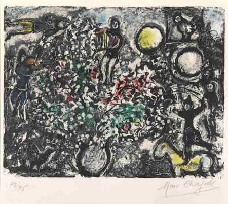 Marc Chagall-L'Aube-1969