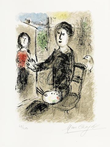 Marc Chagall-Robert Marteau, Les Ateliers de Chagall, Fernand Mourlot, Paris-1976