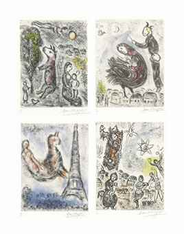 Marc Chagall-Songes: nineteen plates-1981