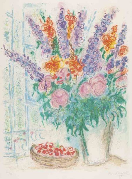Marc Chagall-The Large Bouquet-1963