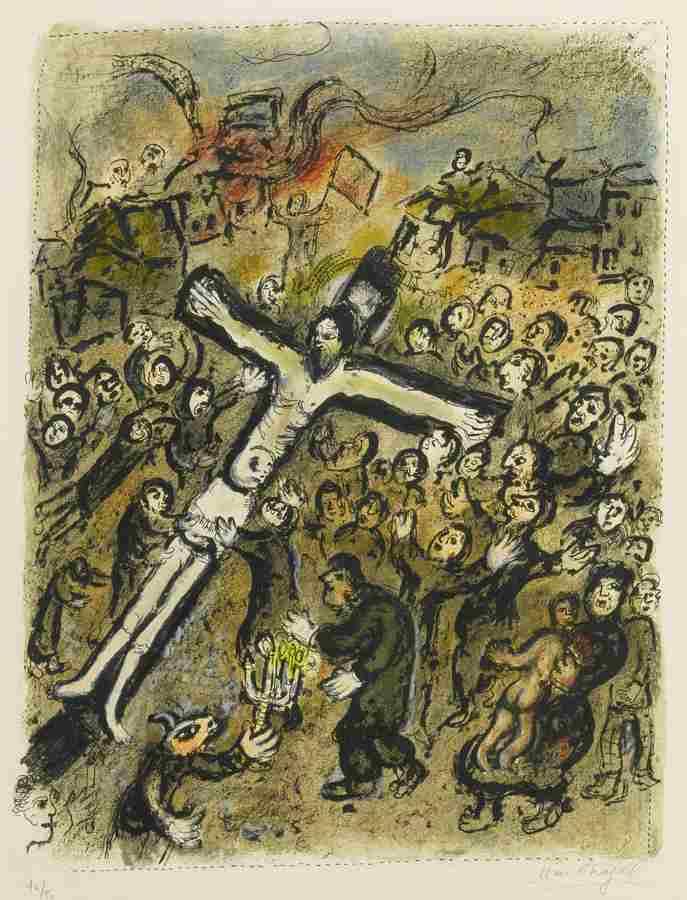 Marc Chagall-The Martyr-1970
