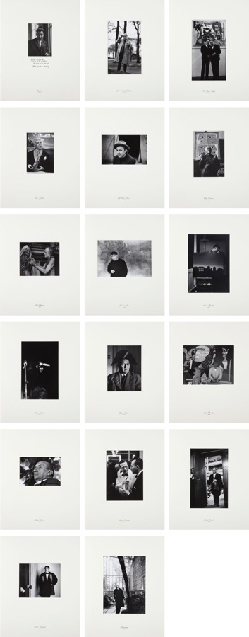 Marcel Broodthaers-Sixteen Photographic Portraits 1957-1967 and One Self-portrait 1974-1983