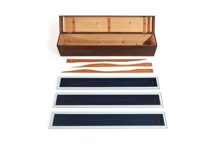Marcel Duchamp - 3 Standard Stoppages, 1964