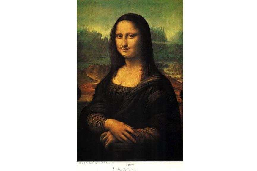 Marcel Duchamp - L.H.O.O.Q. - Mona Lisa, 1964