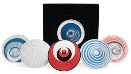 Marcel Duchamp-Rotoreliefs (Optical Discs, Schwarz 441)-1965