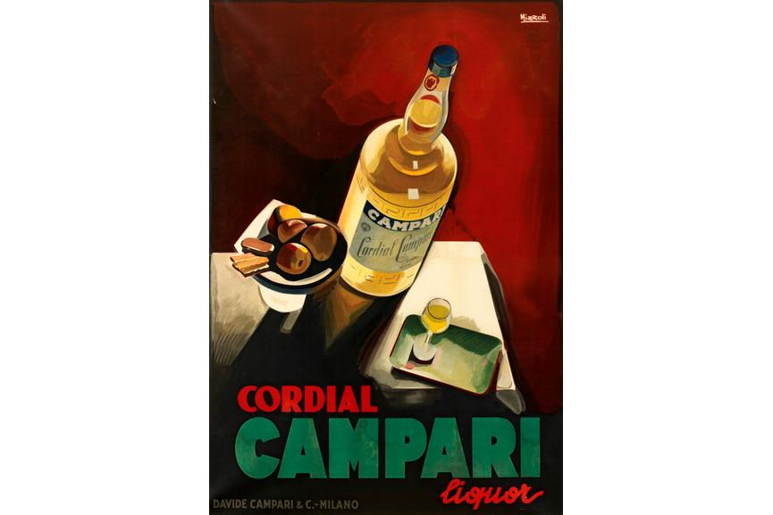 Marcello Nizzoli - Cordial Campari liquor