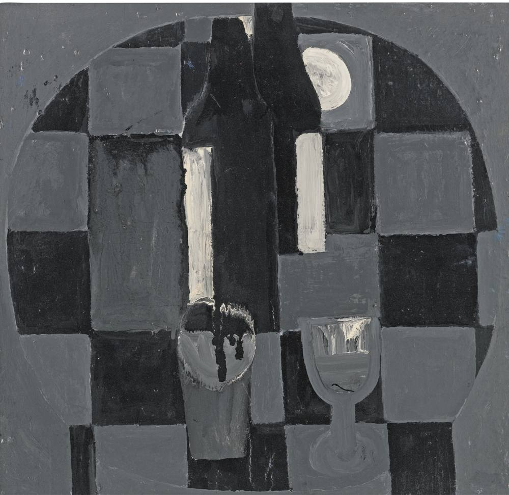 Margaret Mellis-Check Table-1957