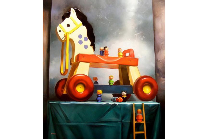 Margaret Morrison - Trojan Horse