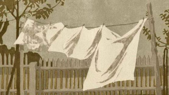 Margarete Braumuller Havermann - Flatternde Windeln, 1905 - image courtesy of Sylvan Cole gallery