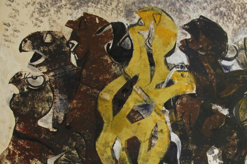 Margo Veillon - Metamorphose Detail