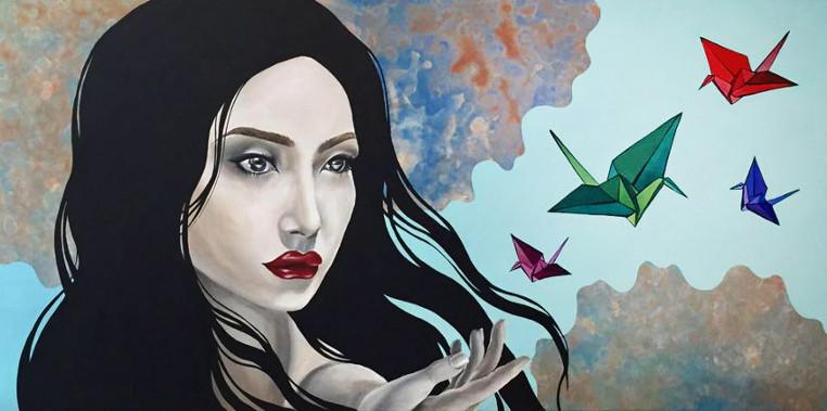 Maria Hegedus - Origami Girl