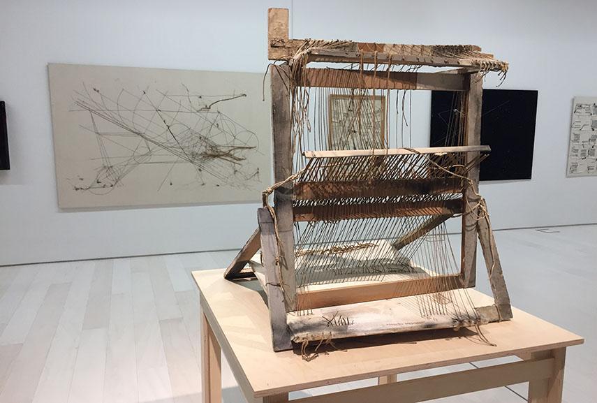 Maria Lai's Loom