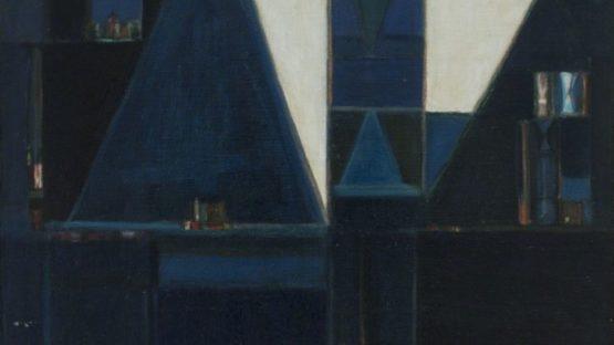 Maria Leontina - De Paisagem e do Tempo IV, 1956 (detail)