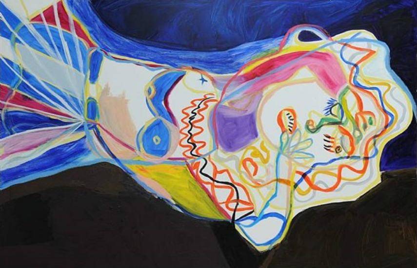 Maria Zerres - Dream (detail), 1999, photo via artnet.com