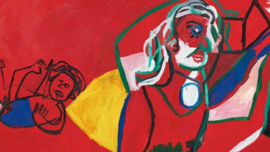 Maria Zerres - Reading Woman (detail),1993