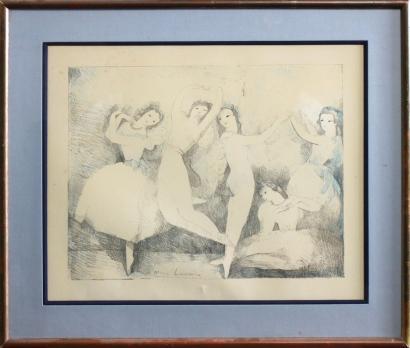 Marie Laurencin-Les danseuses-
