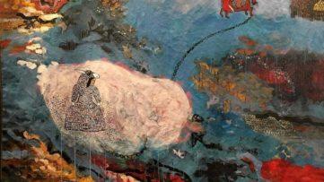 Marielle Plaisir - Skin of the Donkey (detail)