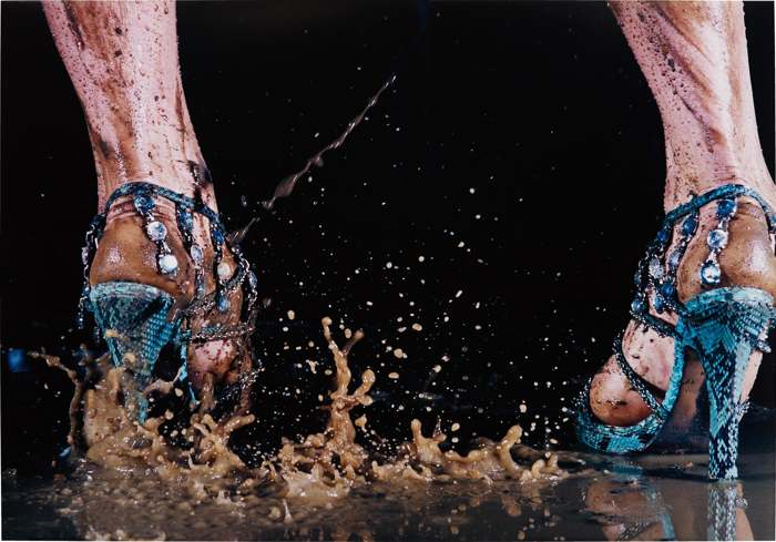 Marilyn Minter-Shit Kicker-2006