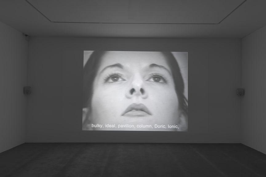 Marina Abramovic Freeing the Memory, 1975
